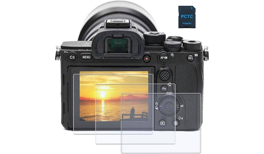 screen protector for sony camera