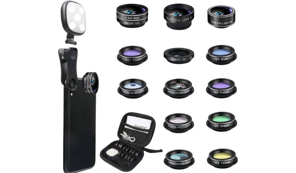 Godefa phone camera lens kit