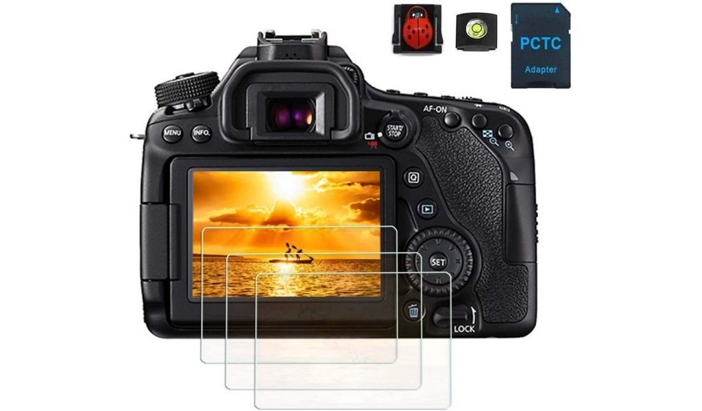 PCTC LCD Screen Protectors for Canon