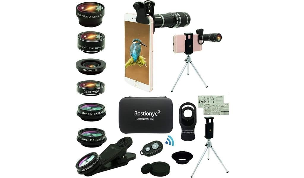 Universal Cell Phone Camera Lens Kit, 11 in 1