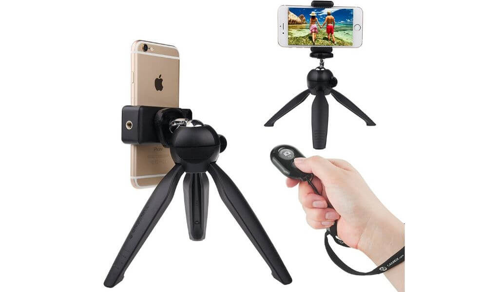 Camkix is another best tripod for phone