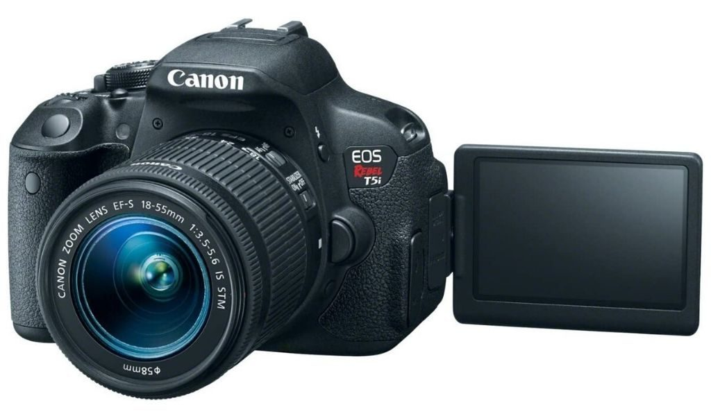 best vlogging camera with flip screen - Canon Rebel T5i