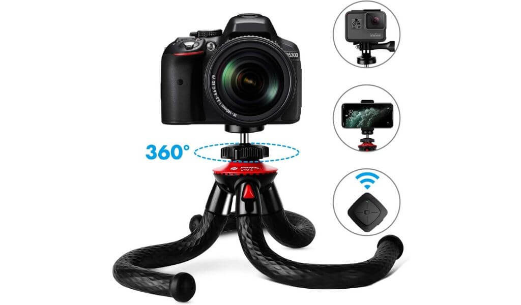 tripod stand for dslr camera and mobile phone