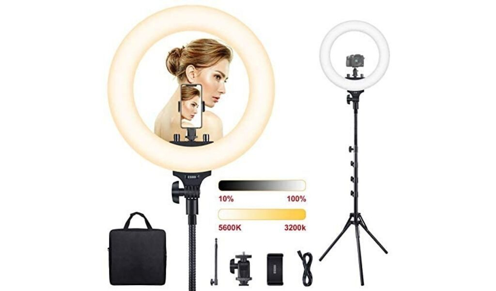 ESDDI LED Ring Light with Tripod Stand