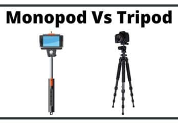 Difference Between Monopod and Tripod